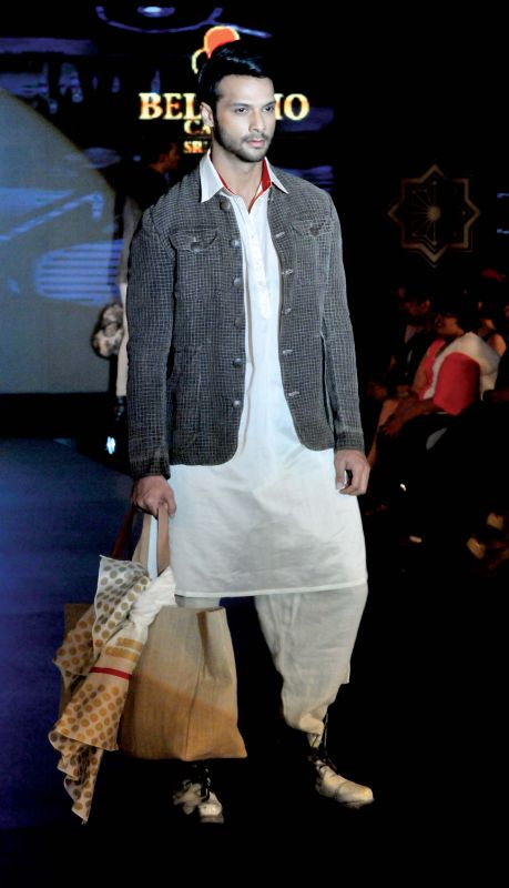 Pair dhoti pants with a cotton kurta and a jacket for a casual look. Pair with sneakers for an added edge