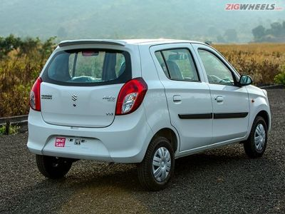 The rear three-quarter is a better angle to look at the Alto than the front.