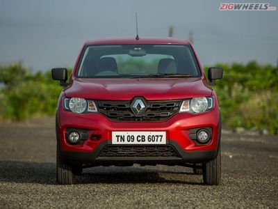 Head on, the Kwid is easily the best looking micro-hatch with its large grille, rectangular headlights and muscular hood that give it the appearance of an SUV.