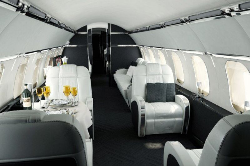 These Private Jets Owned By Billionaires Will Make Business Class Look Pedestrian
