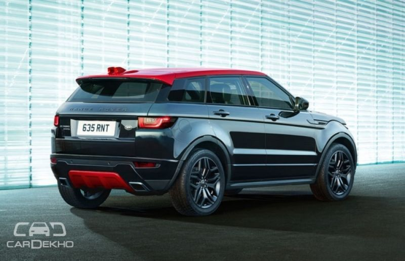 The Dark Range Rover Evoque Ember Edition Unveiled
