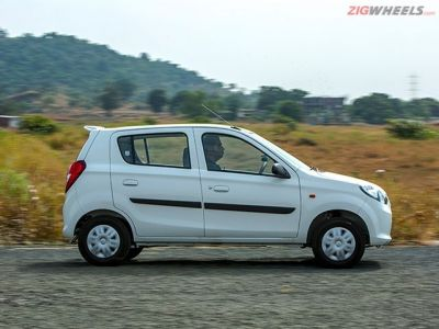 Side profile offers a better view of the Alto.