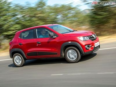 On the go the Kwid is the more comfortable car of the two.