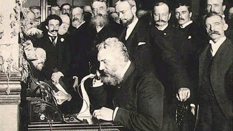 Believe it or not, Western Union actually rejected the patent offer from Alexander Graham Bell, the inventor of the telephone. Eventually, this led to the formation of the Bell Telephone Company, which was later acquired by AT&T. (Photo credit: Wikipedia)