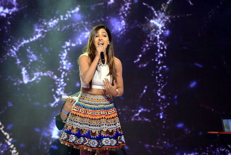 Bollywood singer Neeti Mohan performed a special number at the event.