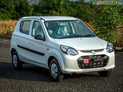 On the whole the Alto 800 looks typically Japanese, but styling is getting long in the tooth.