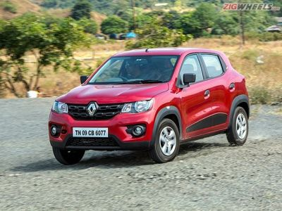 Taller suspension on the Kwid means better ride but slightly less confidence around corners.