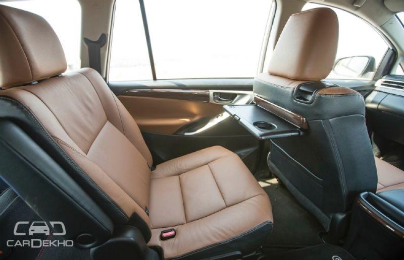 Toyota innova crysta first drive for Innova interior 8 seater