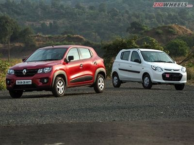 With its kind of ammo, the Kwid seems poised to take the Alto head on. On paper at least.
