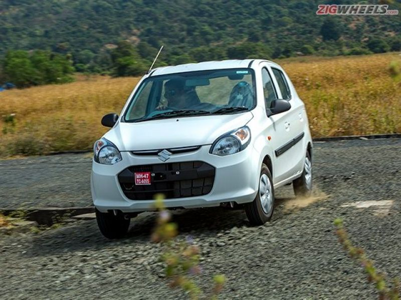Thanks to its slightly stiffer suspension the Alto is more confident around corners.
