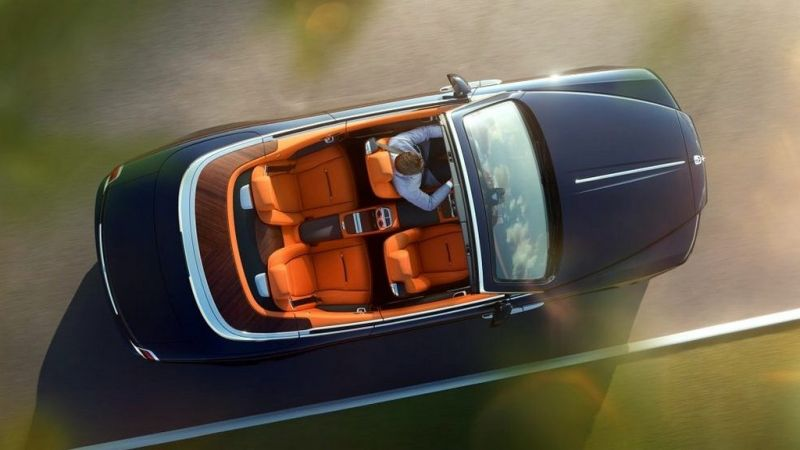 Based on Wraith coupe platform, Rolls-Royce Dawn is a 2+2 seater with a soft-top convertible, which was first unveiled at the Frankfurt Motor Show 2015. The company has placed the car below the Drophead coupe in its global line-up.