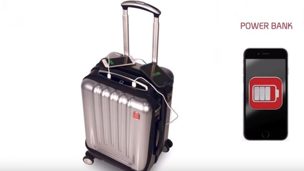 Space Case 1 is one of the smartest suitcases in the world and offers very high security. The suitcase has a biometric lock system with fingerprint recognition that grants users access for opening and closing the case. It is also linked to a smartphone app for global tracking, which provides real time tracking and maintains record of your cases' location throughout the world.