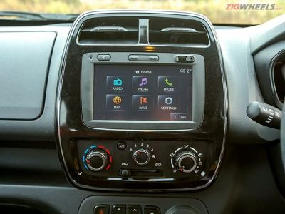 The Kwid's trump card is its touchscreen infotainment system that has Bluetooth connectivity and navigation. These are features unheard of in the micro-hatch segment.