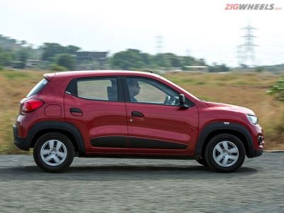 Its side profile is the Kwid's most unappealing one when compared to other profiles.