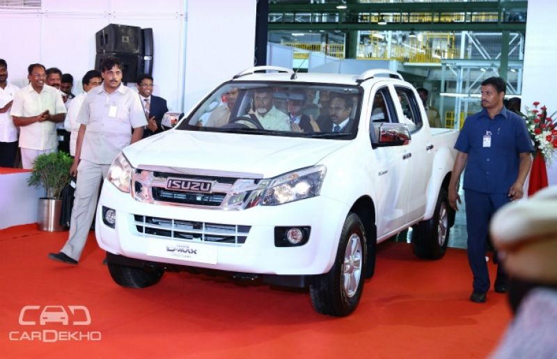 Isuzu Motors Sets Up Its First Manufacturing Facility in India