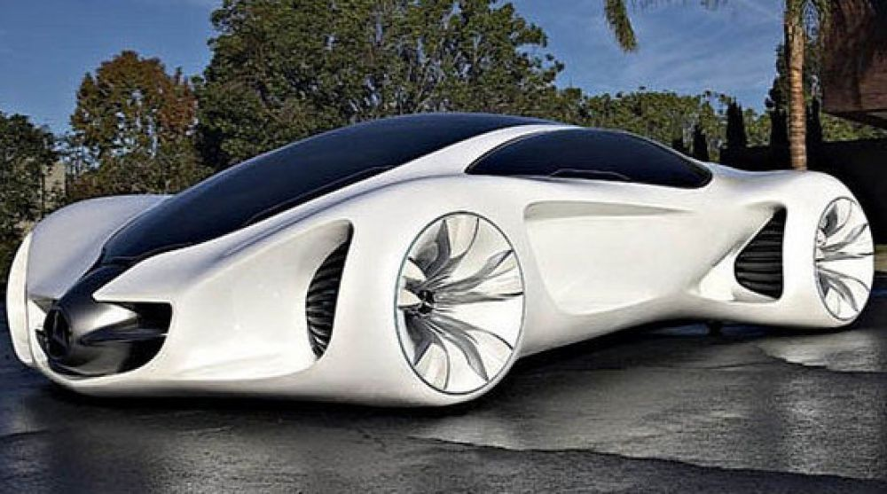 mercedes benz biome concept is a bionic car would be carefully grown in a laboratory - Mercedes Benz Biome Blue