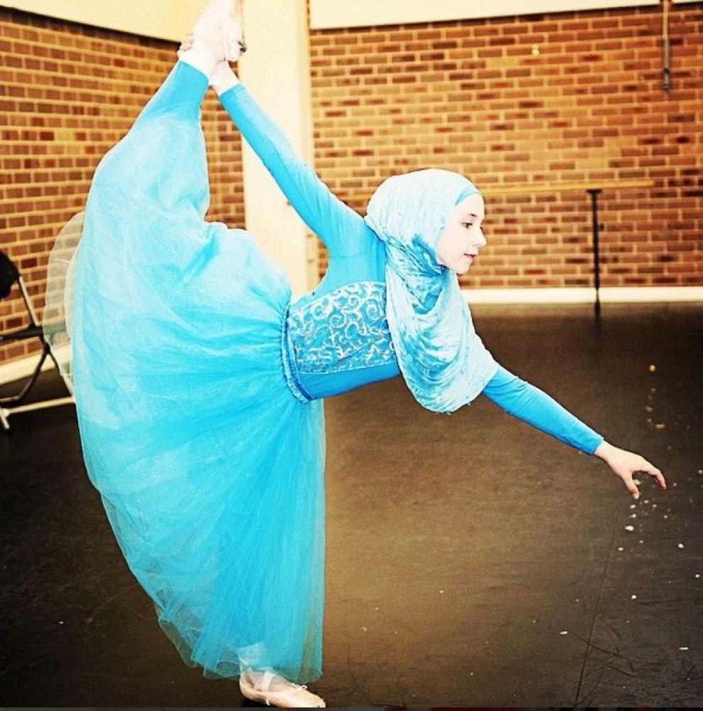 Muslim girl aspires to be worldu2019s first hijab wearing ballet dancer