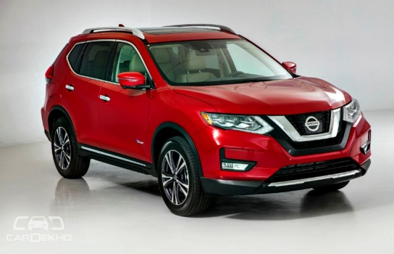 nissan reveals 2017 x trail. Black Bedroom Furniture Sets. Home Design Ideas