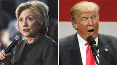 Democratic Presidential candidate Hillary Clinton and Republican nominee Donald Trump. (Photo: AP)