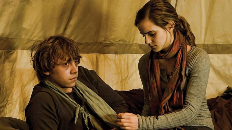 Rupert Grint has a bleak outlook on Ron and Hermione's relationship