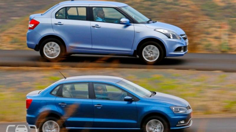 volkswagen ameo vs maruti suzuki swift dzire quick comparison. Black Bedroom Furniture Sets. Home Design Ideas