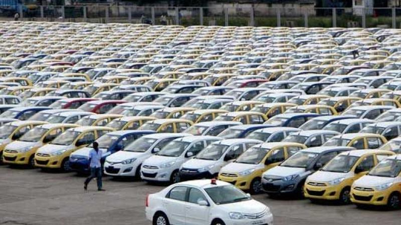 Domestic car sales were up 8.52 per cent at 1,92,773 units as against 1,77,639 units in July last year.