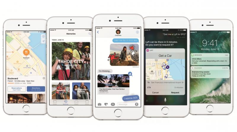 Apple's iOS 10 Replaces 'Slide to Unlock' with