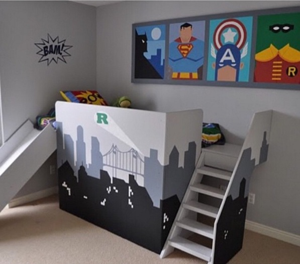 Creative decor ideas for kids\' bedrooms which they will love