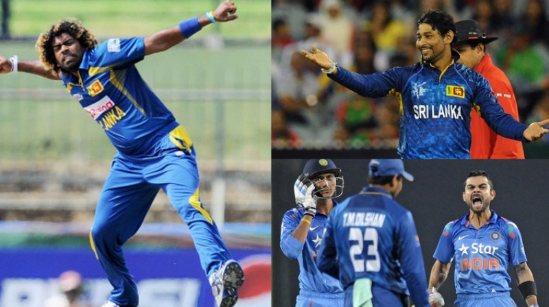 India and Sri Lanka will meet for a three-match T20 rubber starting February 9 in India.(Photos: AFP/ BCCI)