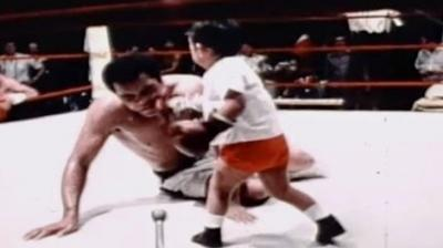 Watch: Boxing match between Muhammad Ali and kid will make ...