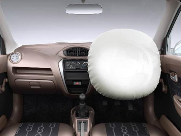 Maruti Suzuki said it will offer driver airbag as an option in Alto 800 and Alto K10