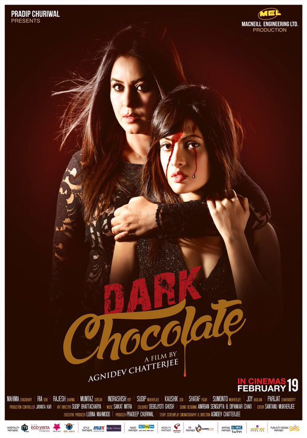 Here's the first look poster of 'Dark Chocolate', film based on ...