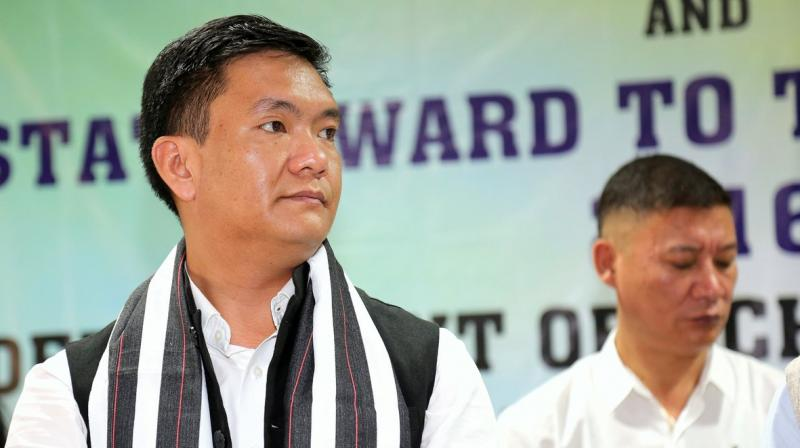 Sharp Blow To Congress; Arunachal CM Pema Khandu, 43 MLAs Quit