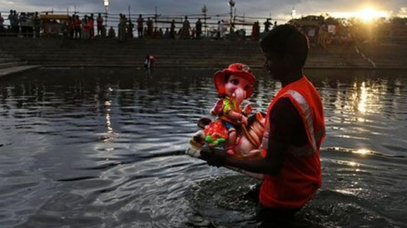 Rajahmundry to collect fee for immersion of Ganesh idols
