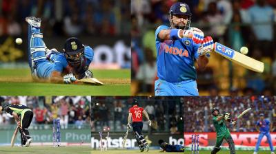 The ICC World T20 was a blend of sheer talent decorated with colossal shots coupled with bowling finesse. India entered the tournament as firm favourites. But in came in the Carbbean speed breaker that crushed MS Dhoni-led Team India's dream to make it to their third summit clash of the global tournament. Chris Gayle, who was pitted as the game changer, was left clueless after an in-swinging Jasprit Bumrah sent him back for just the 5 runs. And after his departure everyone thought it was game over —not Lendl Simmons. However, there were other batsmen, who were expected to fire, but didn't prove their point on the day. Let's have a look. (Photo: PTI/AP)