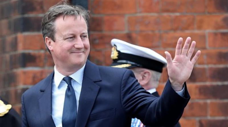 British Prime Minister David Cameron. (Photo: AP)