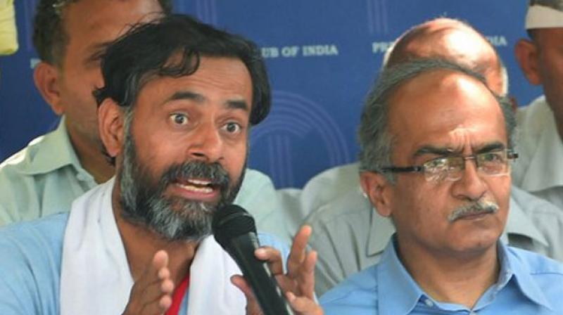 Swaraj Abhiyan launches its political wing 'Swaraj India'