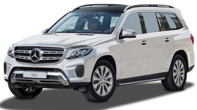 Mercedes-Benz recently launched its flagship SUV, the GLS 350 CDI. Essentially a facelift for the current GL-Class, it incorporates a few update along with the nomenclature change. It gets a reworked face that houses all-LED headlamps and a new grille, new alloy wheels and redesigned tail lamps. We expect the GLS to be powered by the same 3.0-litre V6 motor that develops 255PS of power and 620Nm of torque. (Photo: CarDekho.com)