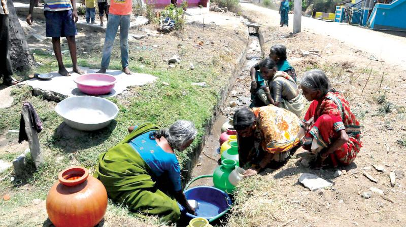 Drought hit Karnataka gets 750 crores from Central Government