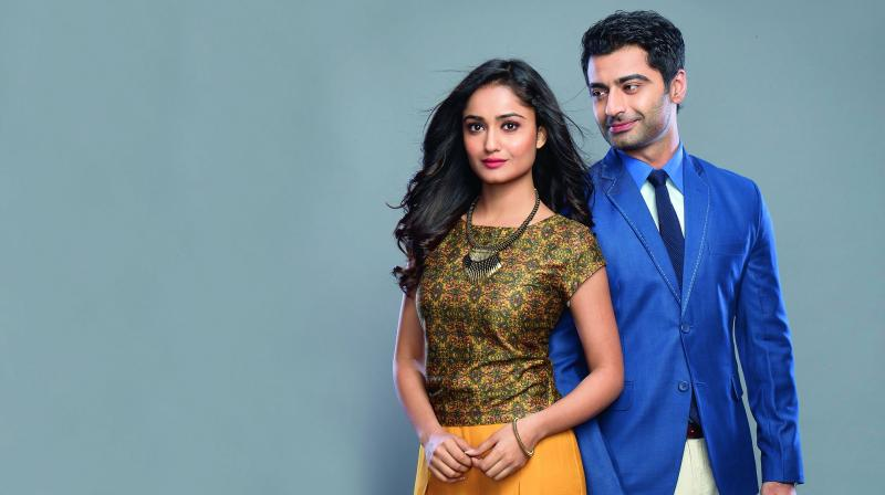 An onscreen pair that is making waves these days on the tube for their sizzling chemistry is Dahleez lead couple Harshad Arora and Tridha Choudhary.