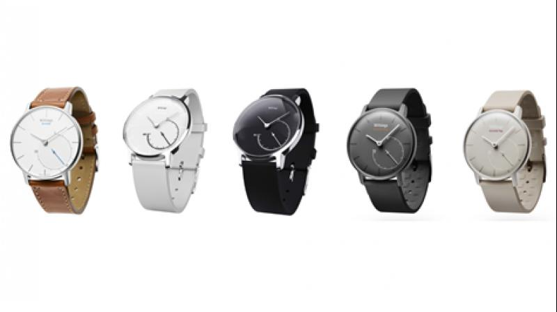 The fitness tracker comes in three variants namely Activité Sapphire, Activité Steel and Activité Pop.