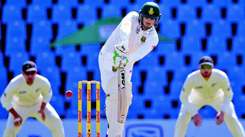 South Africa romped to an emphatic win over New Zealand