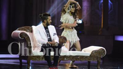 The contestants and celebrity guests sent temperatures soaring on the sets of India's Got Talent with their sexy and seductive dance performances. Photo: Viral Bhayani