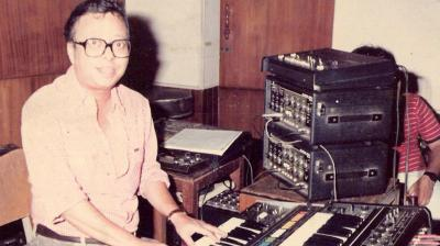Born on June 27, 1939, in Kolkata, R D Burman was the son of composer SD Burman.