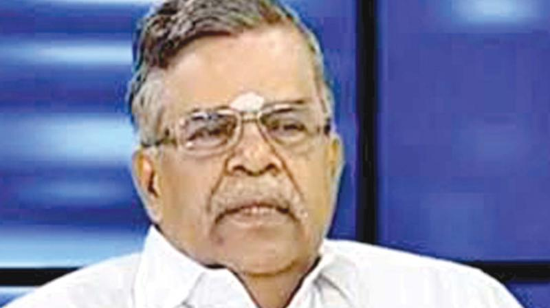 L. Ganesan L Ganesan gets Rajya Sabha MP berth