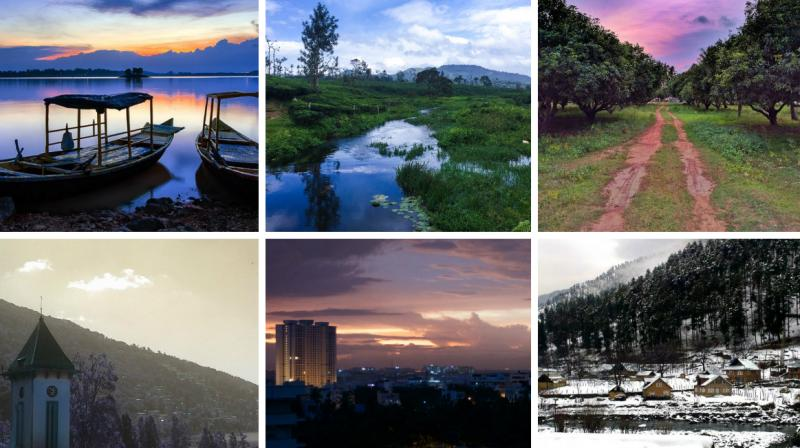 A recent trend on the website Reddit has led Indians to post pictures of scenic views from their home and office windows. Gradually, people have now started putting up gorgeous photos of their native places, villages, and travel spots as well.