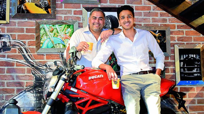 Ashwin Jain and Karar Taher