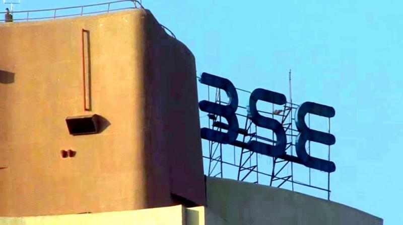 Sensex up for third straight season, jumps186 points