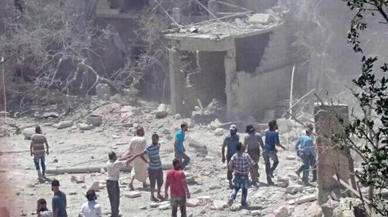 Two feared dead as maternity hospital in Syria bombed