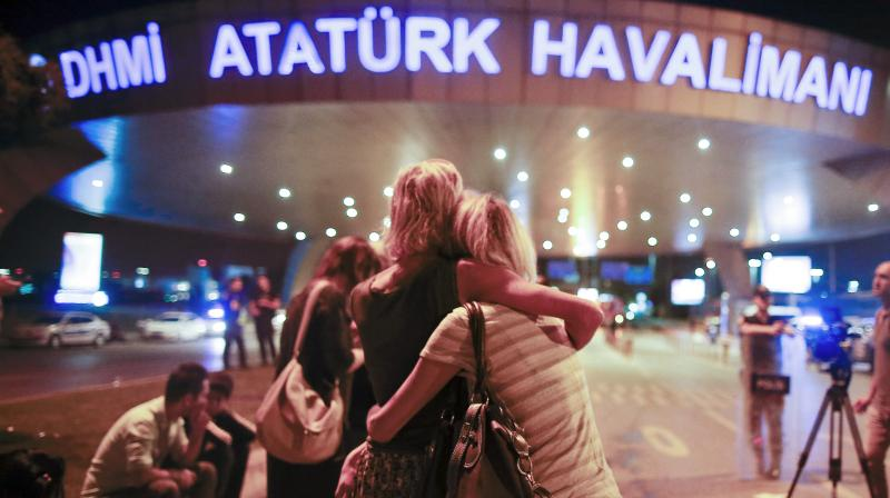 Three suspected Islamic State group suicide bombers targeted the international terminal of Istanbul's Ataturk airport, killing at least 36 people and wounding many others. (Photo: AP)
